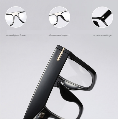 JackJad Unisex Fashion Brand Design Cool Square Style FAUSTO Eyewear Frame