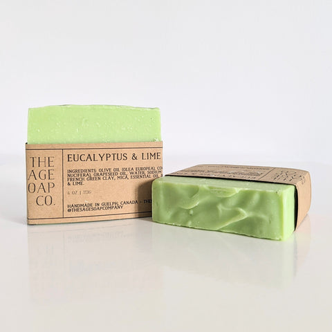 Bar Soap - Eucalyptus & Lime