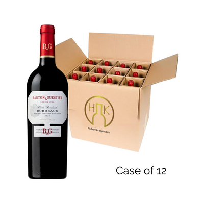 Barton & Guestier Bordeaux Rouge 2018 (12/Case)