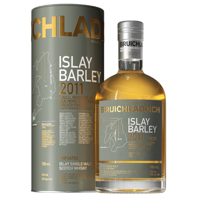Bruichladdich Islay Barley 2011 Single Malt Whisky 700ML