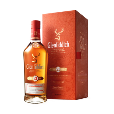 Glenfiddich Scotch Single Malt 21yrs 700ML