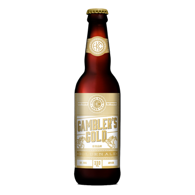 Gambler's Gold Golden Ale Bottle 330ml