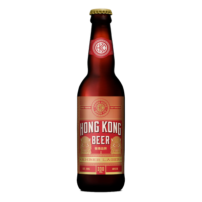 Hong Kong Beer Amber Ale Bottle 330ml