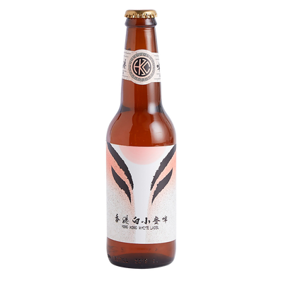 Hong Kong White Lager Bottle 330ml
