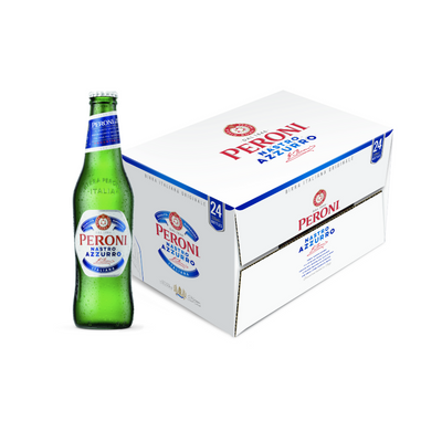 Peroni Nastro Azzurro Bottle 24 pack (24x330ml)