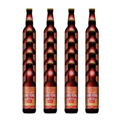 Hong Kong Beer Amber Ale Bottle 24 pack (24x330ml)