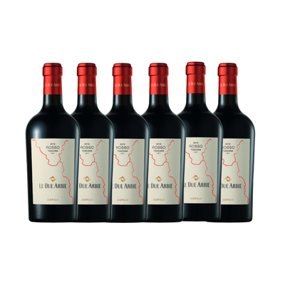 Dievole ''Le Due Arbie'' Toscana IGT Rosso 2017/18 6 Pack