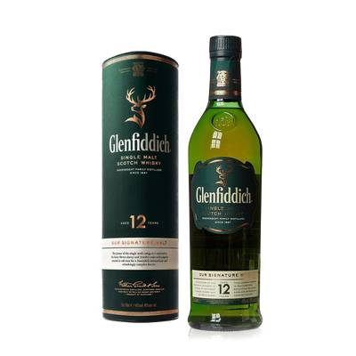 Glenfiddich Scotch Single Malt 12yrs 700ML