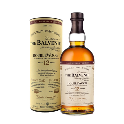 Balvenie Scotch Single Malt DoubleWood Aged 12yrs 700ML