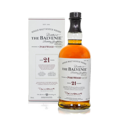 Balvenie Scotch Single Malt PortWood Aged 21yrs 700ML
