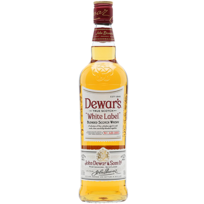 Dewar's White Label Scotch Blended Whisky 750ml