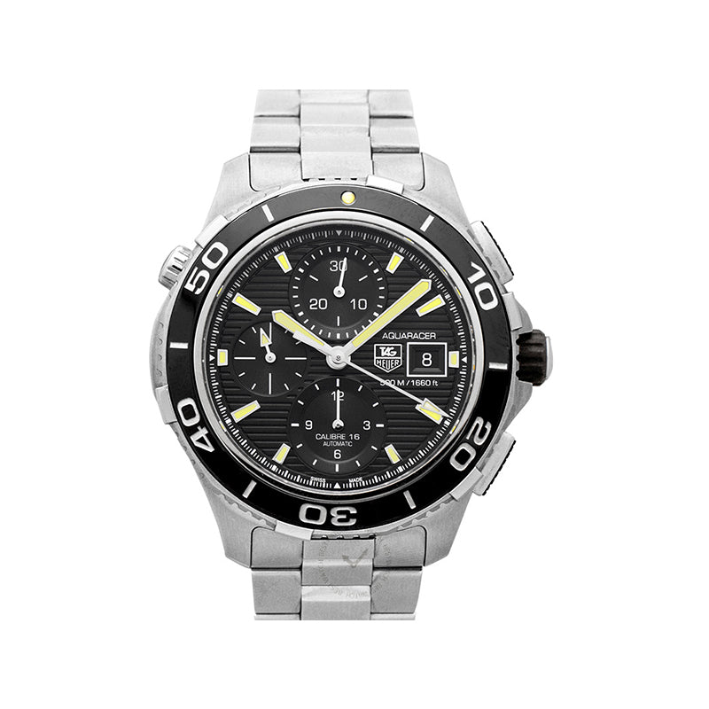 TAG Heuer Aquaracer Calibre 16 Automatic Black Dial Men's Watch
