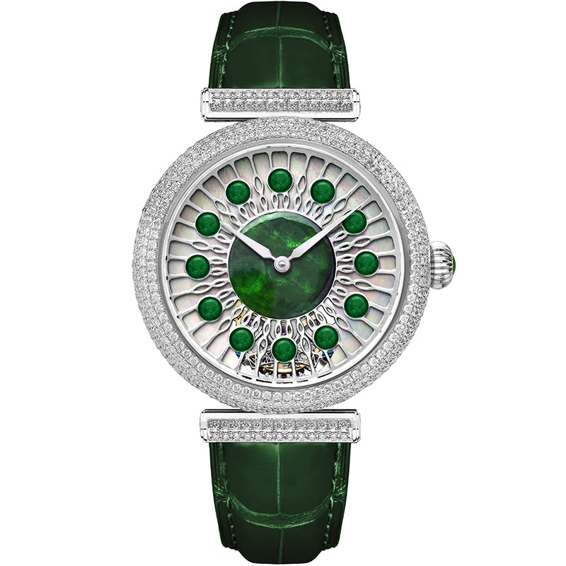 Memorigin Jadeite Peacock Tourbillon ST2019