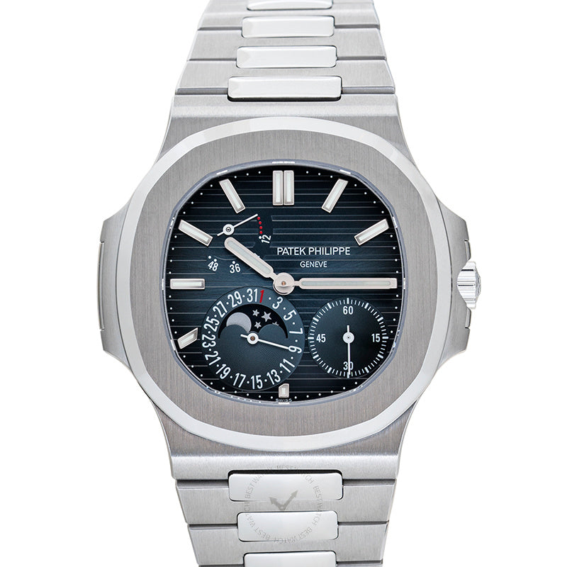 Patek Philippe Nautilus Blue Dial Men's Watch