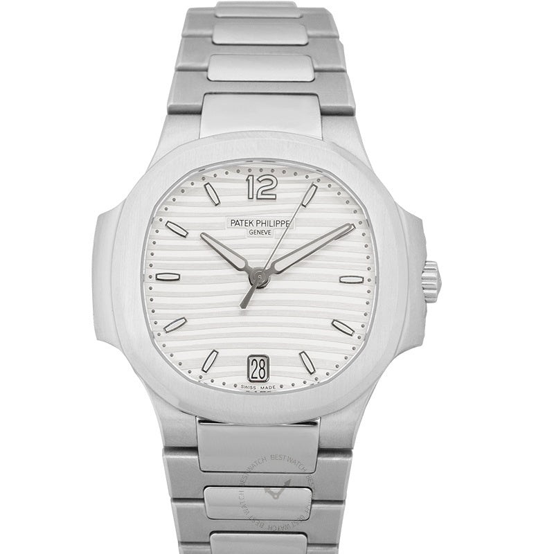 Patek Philippe Nautilus Silver Dial Ladies Watch