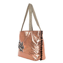 Load image into Gallery viewer, Chloe | Rose Gold Pillow Tote Bag