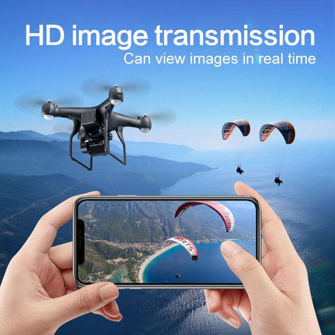 New Arrival! Drone with 4K Live Video Camera. One Key Return. Head-free App Control. Altitude Hold. Fly for 25min.