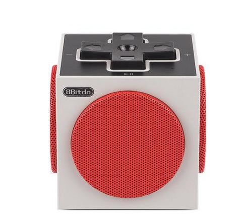 Image of Retro Cube Portable Bluetooth Speaker