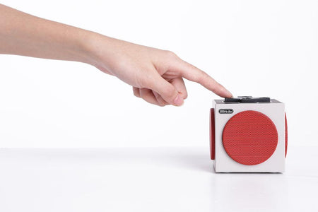 Retro Cube Portable Bluetooth Speaker