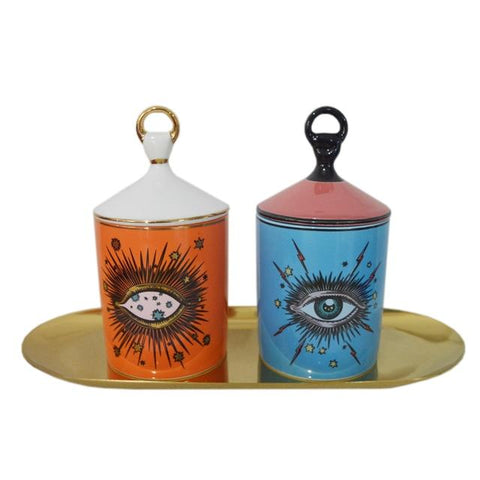 Big Eye Starry Sky Incense Candle Holder