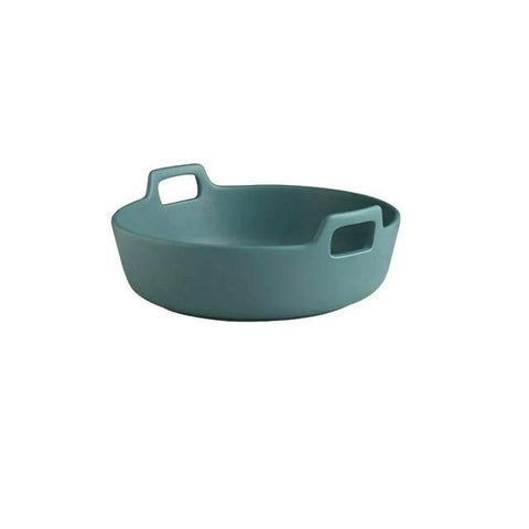 Ceramic Binaural Fruit Salad Bowl