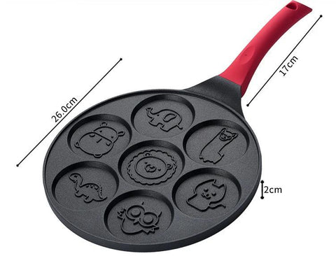 Image of Emoji/Animal Face Shaping Baking pan / Omelette pan
