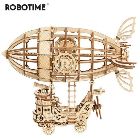 New Arrival 2020! Robotime Wooden Puzzle Game Assembly