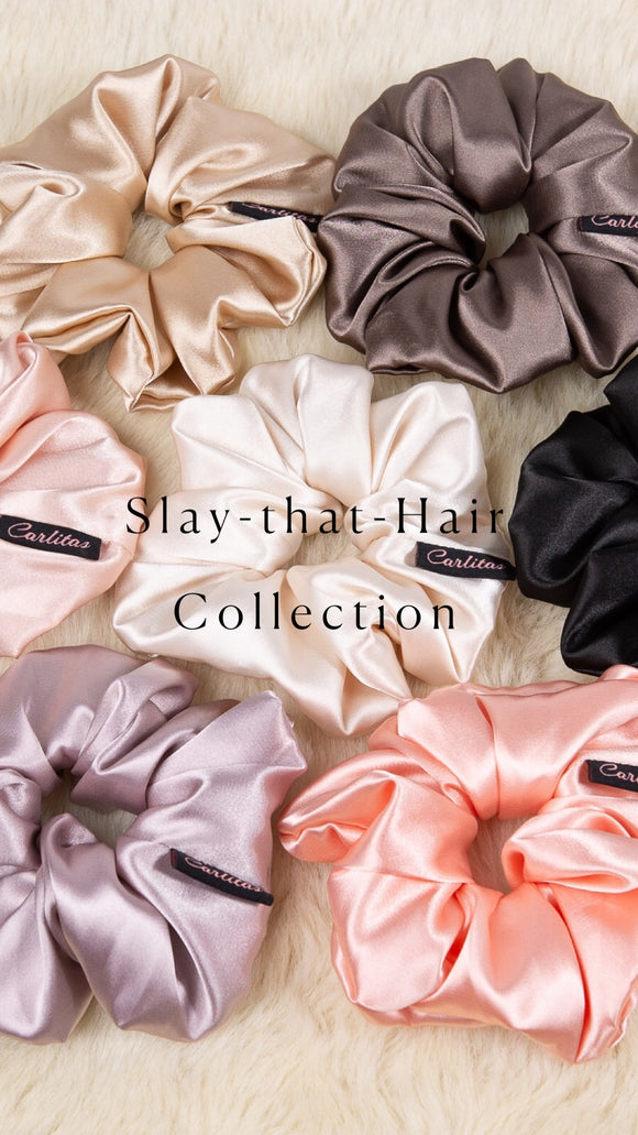 Slay-that-Hair Scrunchies Collection