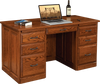 "56"" Traditional Flat-Top Desk"