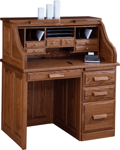 "42"" Traditional Roll-Top Desk"