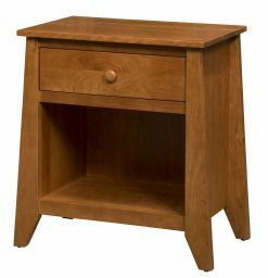 Berwick 1 Drawer Open Nightstand