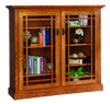 Mission Glass Door Bookcase