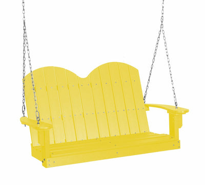 Classic Savannah Porch Swing Poly Lumber