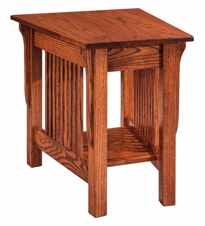 Leah Wedge Shaped End Table