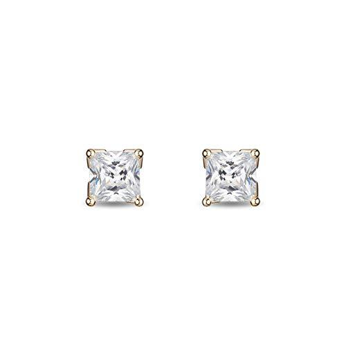 enchanted_disney-majestic-princess_0_33_cttw_princess_cut_diamond_solitaire_earrings-14k_yellow_gold_0.33CTTW_2
