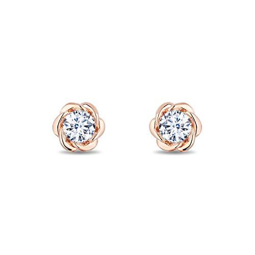 enchanted_disney-belle_1cttw_diamond_solitaire_earrings-14k_pink_gold_1CTTW_4