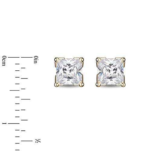 enchanted_disney-majestic-princess_0_50_cttw_princess_cut_diamond_solitaire_earrings-14k_yellow_gold_0.50CTTW_5