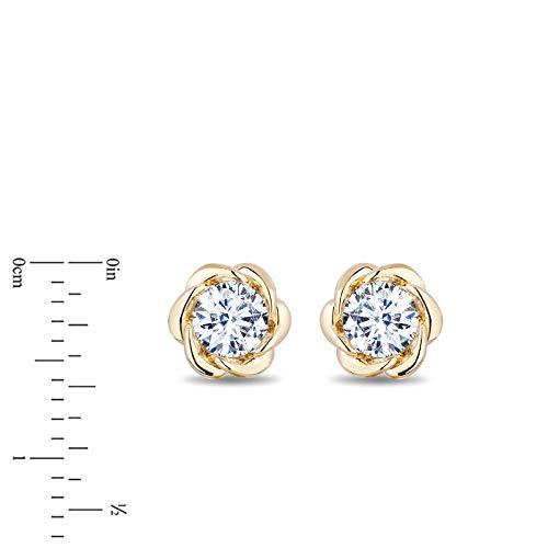 enchanted_disney-belle_0_33_cttw_diamond_solitaire_earrings-14k_yellow_gold_0.33CTTW_3
