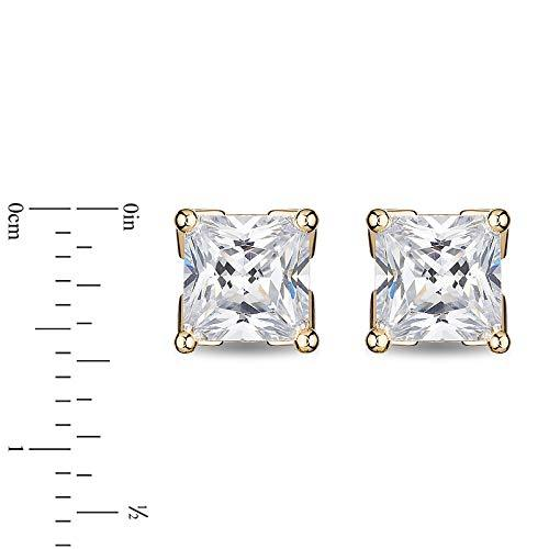 enchanted_disney-majestic-princess_0_75_cttw_princess_cut_diamond_solitaire_earrings-14k_yellow_gold_0.75CTTW_2