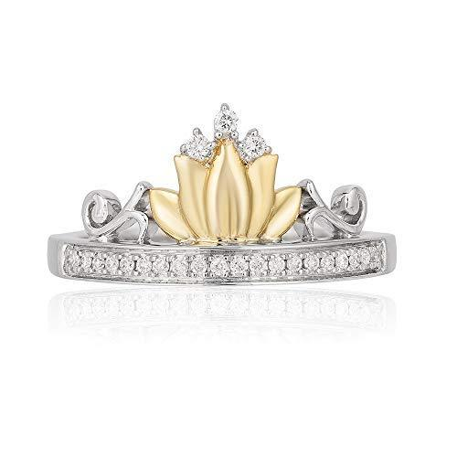enchanted_disney-tiana_water_lily_tiara_ring-sterling_silver_and_10kt_yellow_gold_0.10CTTW_2