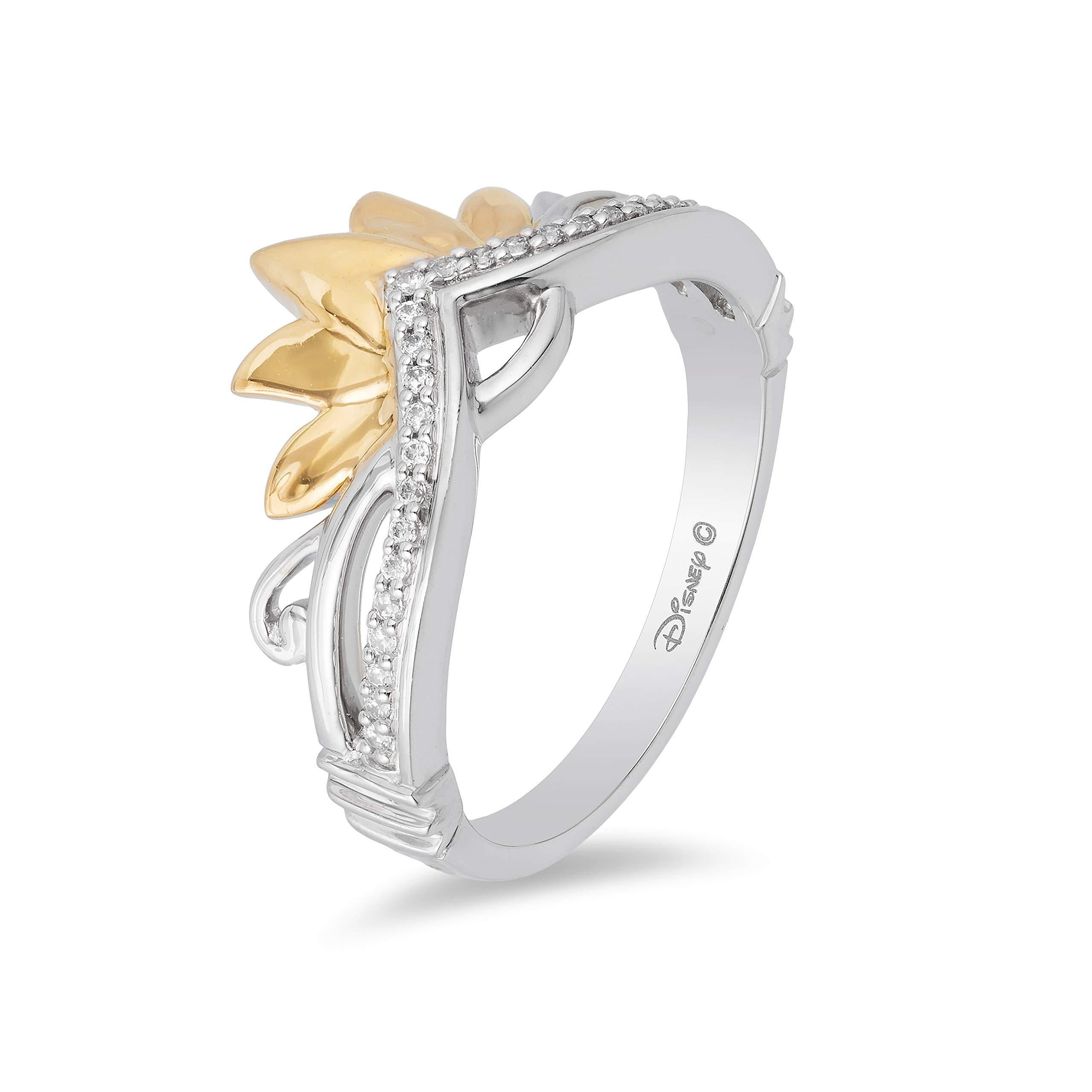 enchanted_disney-tiana_tiara_ring-9k_yellow_gold_and_sterling_silver_0.10CTTW_1
