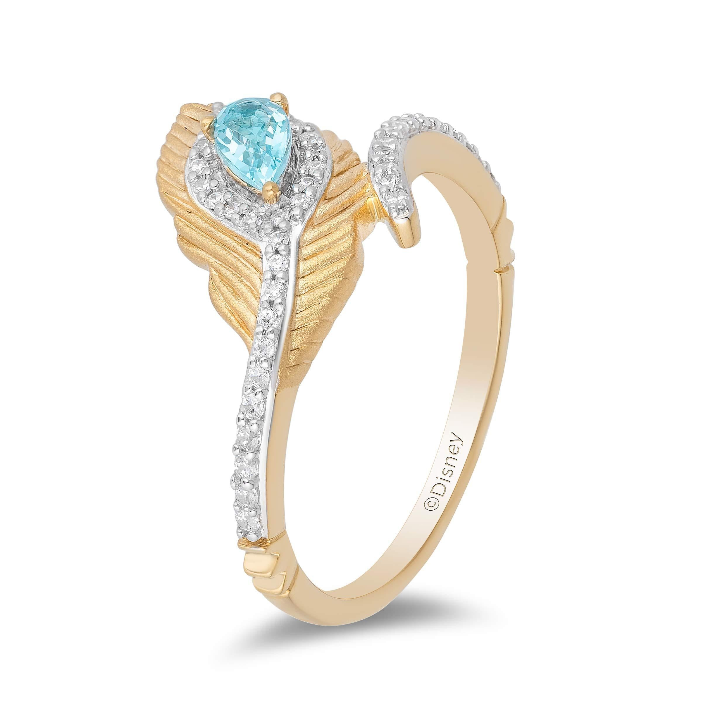 enchanted_disney-jasmine_peacock_feather_ring-9k_yellow_gold_0.16CTTW_2