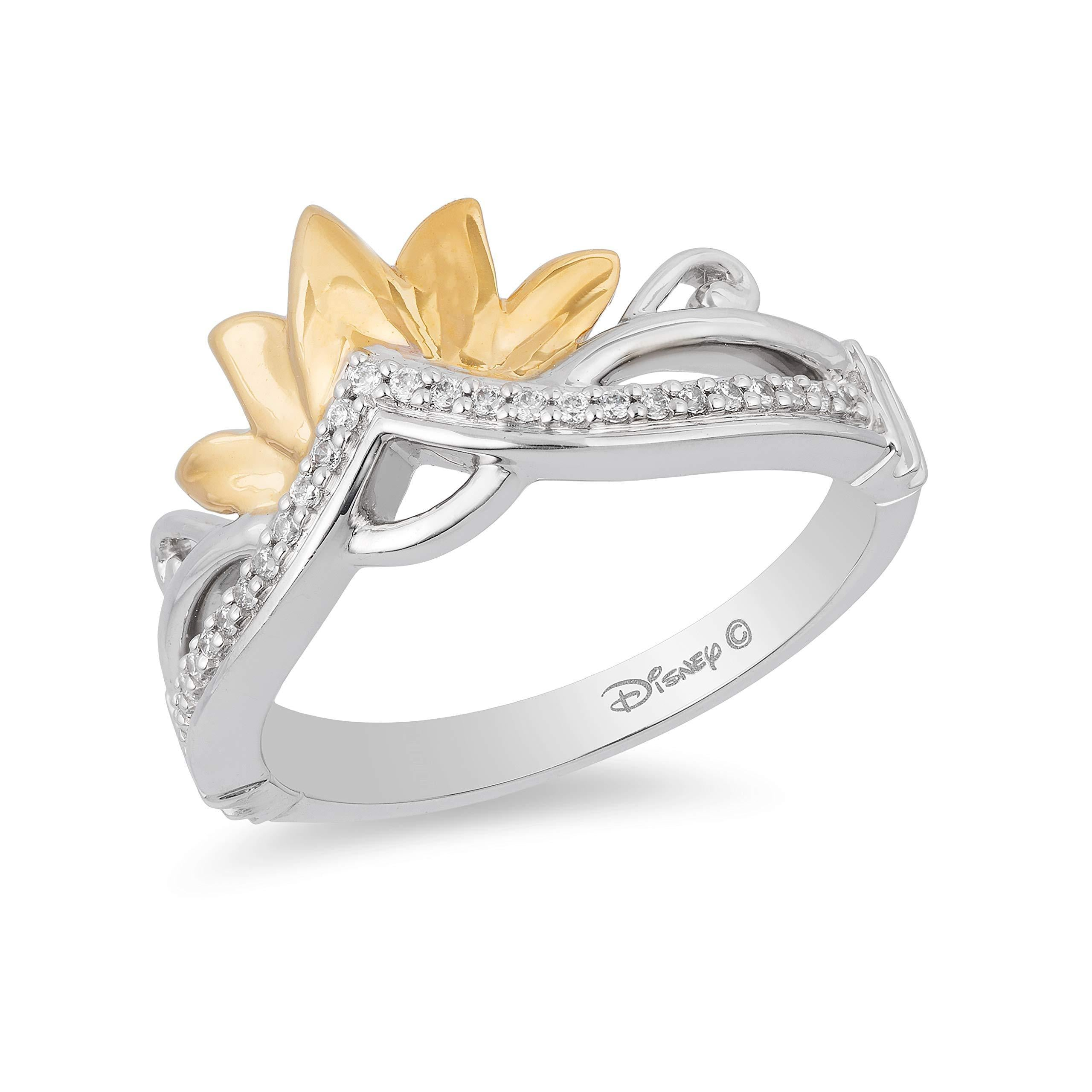 enchanted_disney-tiana_tiara_ring-9k_yellow_gold_and_sterling_silver_0.10CTTW_2