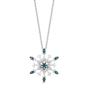 enchanted_disney-elsa_pendant-sterling_silver_0.14CTTW