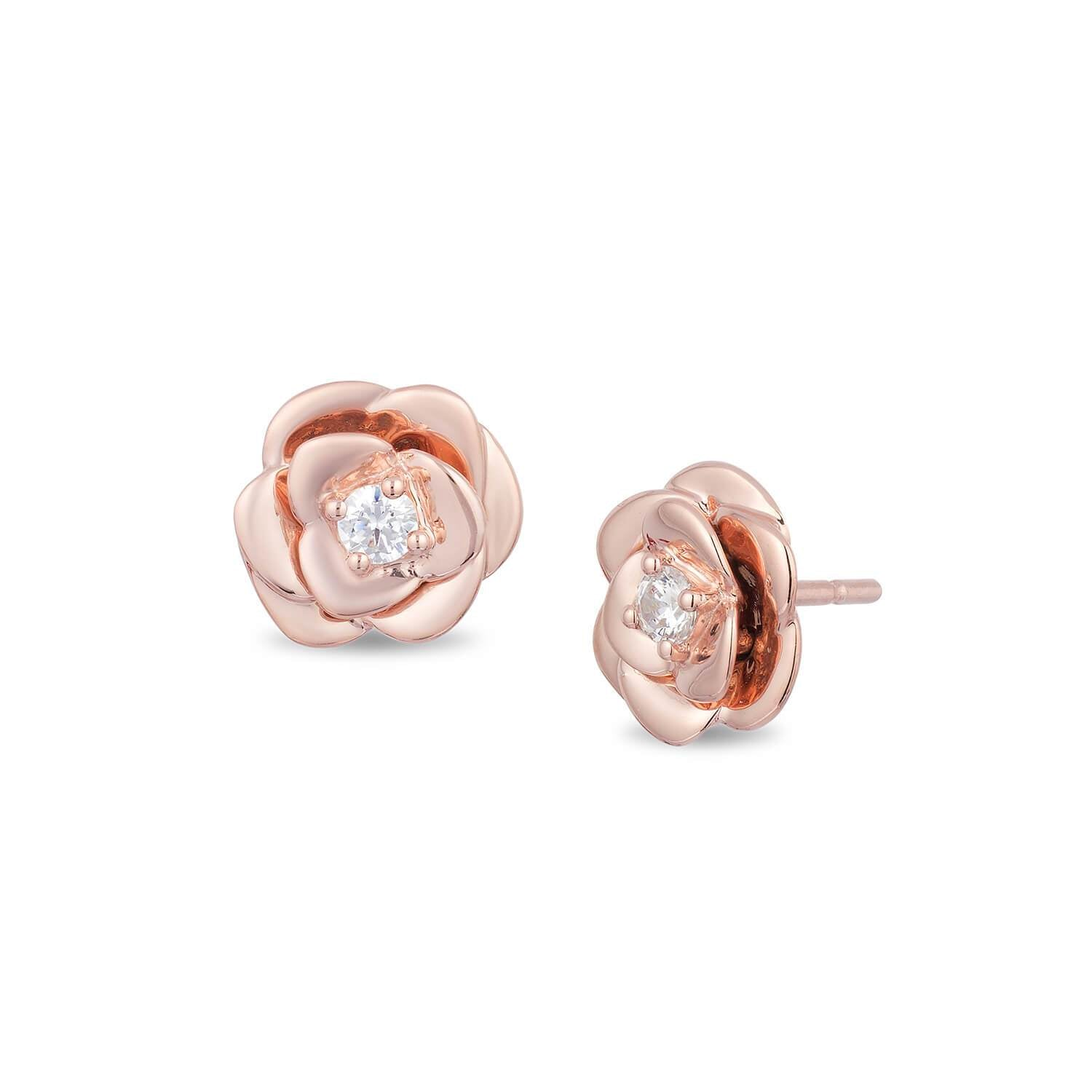 enchanted_disney-belle_stud_earrings-9k_rose_gold_0.10CTTW_1