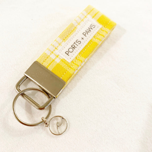 YELLOW PALAKA KEY FOB