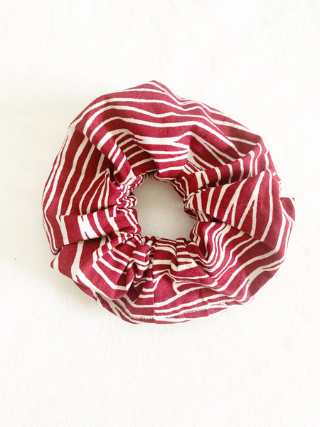 RED WATER SCRUNCHIE