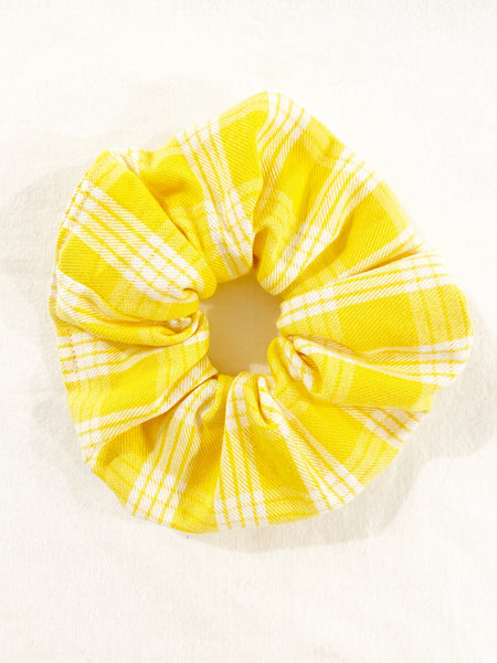 YELLOW PALAKA SCRUNCHIE