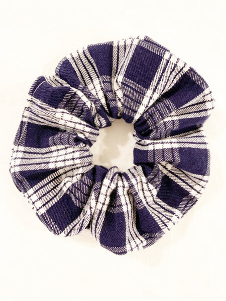 BLUE PALAKA SCRUNCHIE