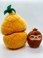 SLOTH IN PINEAPPLE PUZZLE TOY